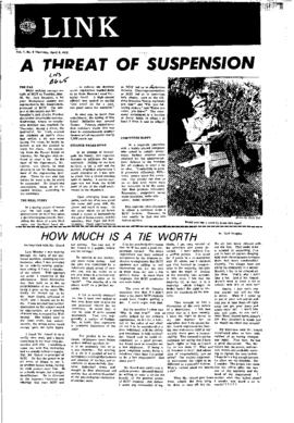 The Link Newspaper 1972-04-06