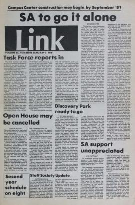 The Link Newspaper 1981-01-07