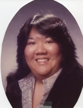 BCIT Alumni Association Board Member; Nancy Chow, Secretary, 1988-89
