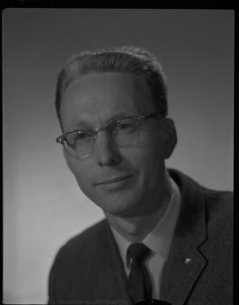 Mitchell, Gordon, Forest Products Utilization, Staff portraits 1965-1967 (E) [3 of 4 photographs]