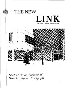 The Link Newspaper 1969-01-20