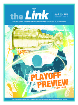 The Link Newspaper 2012-04-11