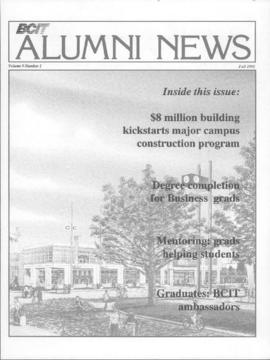 BCIT Alumni Association Newsletter 1991 Fall BCIT Alumni News