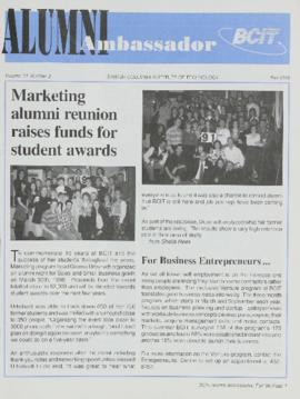 BCIT Alumni Association Newsletter 1996 Fall Alumni Ambassador