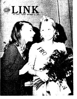 The Link Newspaper 1970-09-15