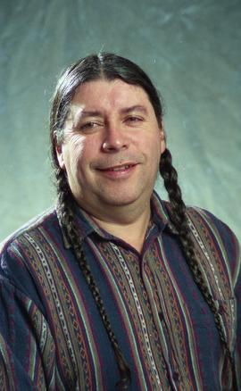 First Nations staff portraits, unnamed male 5 [1 of 6 photographs]