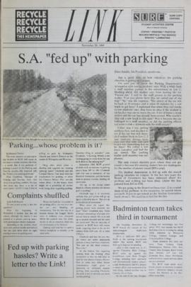 The Link Newspaper 1989-11-29