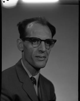 McGuire, Eric, Mathematics, Staff portraits 1965-1967 (E) [1 of 5 photographs]