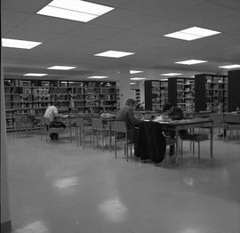 BCIT Library ; students studying