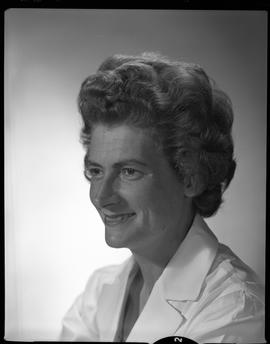 Wyse, Medical Lab, Staff portraits 1965-1967 (E) [4 of 5 photographs]