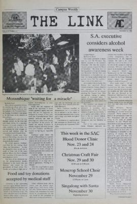 The Link Newspaper 1988-11-23