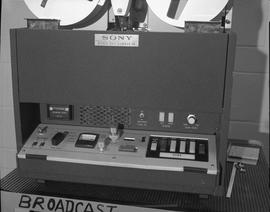 British Columbia Institute of Technology Broadcasting ; 1960s ; Sony recorder for film and audio