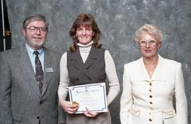 BCIT Staff Recognition Awards, 1996 ; Carrie MacGregor, 15 years