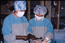 Advanced critical care studies, operating room, December 13, 1987 [3 of 9 photographs]