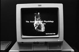 IVD - The anatomy and physiology of the heart - image of program on monitor [2 of 2 photographs]