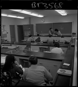 BCVS image of Basic Training Skills Developement (BTSD) students sitting in a laboratory with an ...