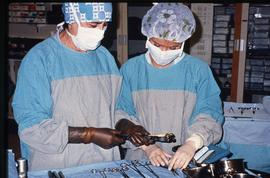 Advanced critical care studies, operating room, December 13, 1987 [1 of 9 photographs]