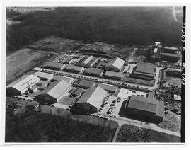 Aerial Photograph of BCIT, Burnaby campus March 6, 1963 - SW1 being built and Pacific Vocational ...