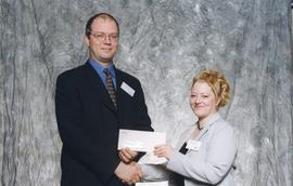 BCIT Alumni Association Award, Oct. 27, 1999; Shauna Patterson, presented by Kazamir Falconbridge...