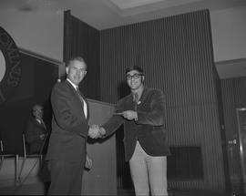 Student Scholarship Awards, BCIT, 1970 [40]