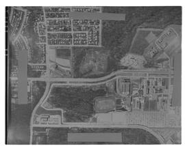 Aerial Photograph of BCIT and BCVS. Vertical Air photo. Burnaby Campus [2 of 2 photographs]