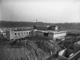BCIT construction, February 1968