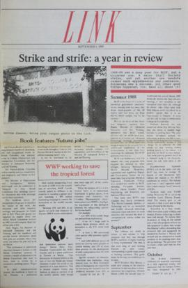 The Link Newspaper 1989-09-06