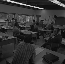Navigation, 1968; students in a classroom [2 of 2]