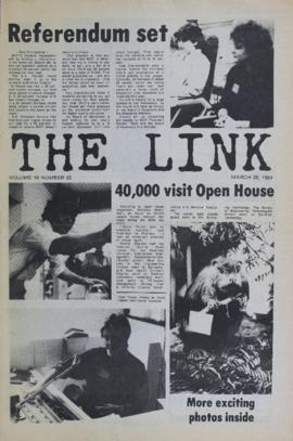 The Link Newspaper 1984-03-28