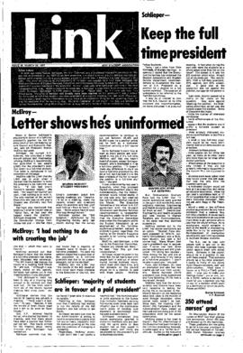 The Link Newspaper 1977-03-30