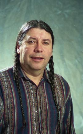 First Nations staff portraits, unnamed male 5 [2 of 6 photographs]