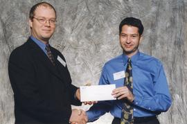 BCIT Alumni Association Entrance Awards, Oct. 27, 1999; Stephen Harmaty, presented by Kazamir Fal...