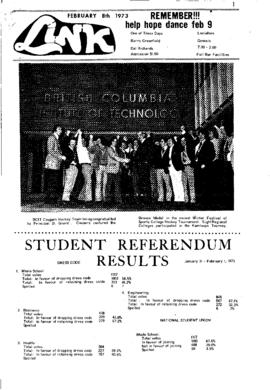 The Link Newspaper 1973-02-08