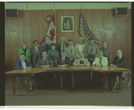 BCIT Board of Governors 1992-1993