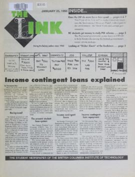 The Link Newspaper 1995-01-25