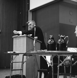 CVA Convention, 1969 ; man standing at a podium [1 of 6]