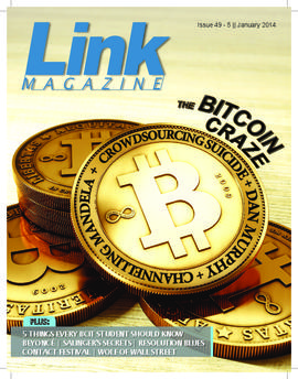 The Link BCIT's student magazine January 2014