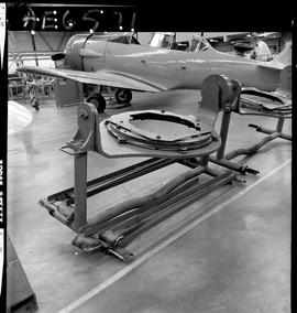 BC Vocational School image of aircraft engine parts inside the hangar in Burnaby [3 of 4 photogra...