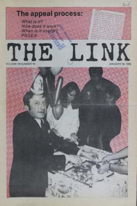 The Link Newspaper 1985-01-16
