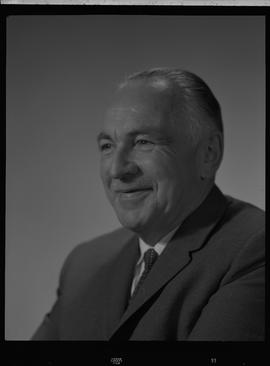 Turnbull, Malcolm (Mac), Stores Manager, Staff portraits 1965-1967 (E) [4 of 5 photographs]
