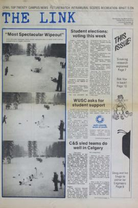 The Link Newspaper 1986-03-04