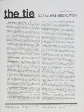 BCIT Alumni Association Newsletter 1974 The Tie Second Quarter