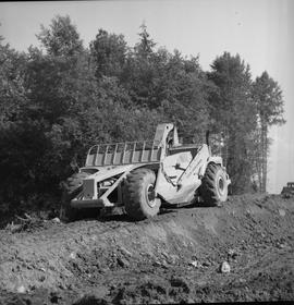 Logging, 1969; Allis-Chalmers logging equipment