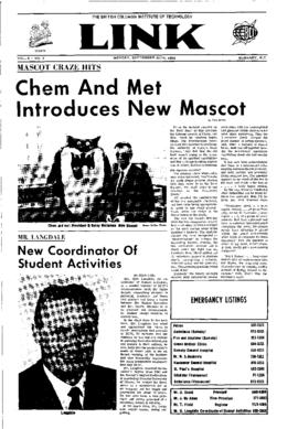 The Link Newspaper 1968-09-30