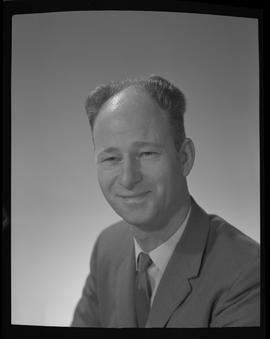 Cuthbert, J. Alf, Forestry, Staff portraits 1965-1967 (E) [1 of 3 photographs]