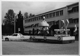PVI Maple Ridge 1978-1981 ; Maple Ridge campus Smurf float [4 of 8]