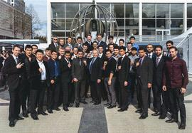 BCIT Mechanical Engineering students Iron ring ceremony, 2005 [title cont'd in note]