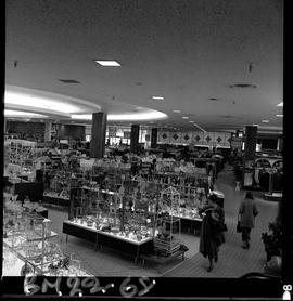 BCIT Business Management program image of the interior of a department store showing staff, shopp...