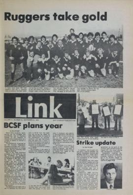 The Link Newspaper 1979-11-21