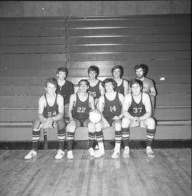 BCIT men's volleyball team, 1971